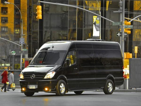 Mercedes Sprinter Black (черный)