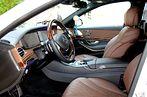Mercedes S-klasse W222 Белый