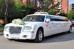 Лимузин крайслер 300с (Белый)